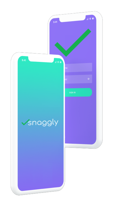 snaggly task tracking app
